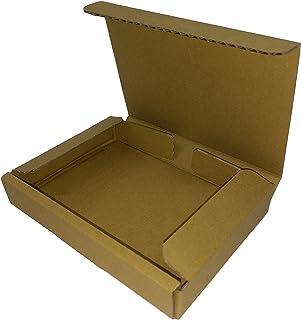 桐パック:ダンボール箱ゆうパケット・クリックポスト用A6・ハガキサイズ(段ボール箱)100枚(外寸:160×123×29mm)(3ミリ厚)
