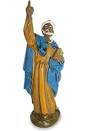 Paquete de 5 Piezas Ferrari /& Arrighetti Estatua Virgen de Lourdes de Metal Plateado con im/án 5 cm