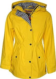 Urban Republic Girls Anorak Vinyl Raincoat with Hood and Cinched Waist