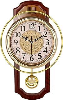 Nclon Europeo Reloj de Pared,Silencioso sin Ruidos Creativo