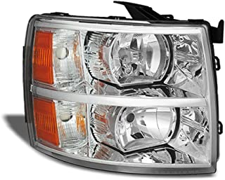 ACANII - For 2007-2013 Chevy Silverado 1500 2500HD 3500HD Replacement Headlight Headlamp - Passenger Side Only