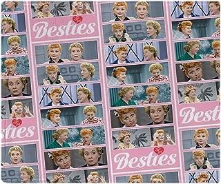 CafePress-I Love Lucy: Pattern-Soft Fleece Throw Blanket
