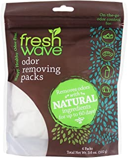 Fresh Wave Packs Odor Eliminator 6 Pk, 6 CT