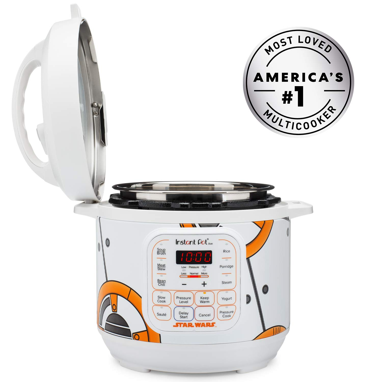 Star Wars Instant Pot Duo 6-Qt Pressure Cooker Duo Little Bounty Black