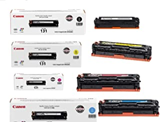 CANON Toner 131 SET ORIGINAL,IC MF8280/C/W , Yellow 6269B001AA ,Magenta 270B001AA ,Cyan 6271B001AA,Black 6272B001AA