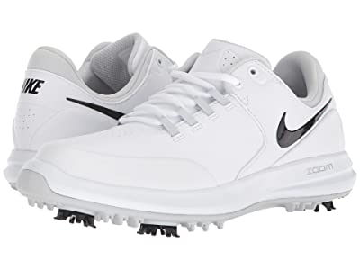 Nike Golf Air Zoom Accurate (White/Black/Metallic Silver/Pure Platinum) Women