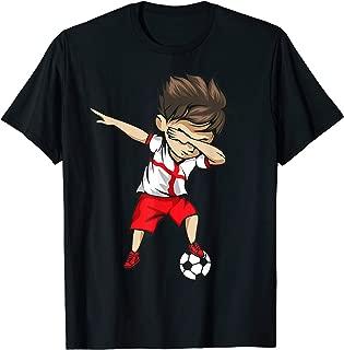 Dabbing Soccer Boy England Jersey Shirt - English Football