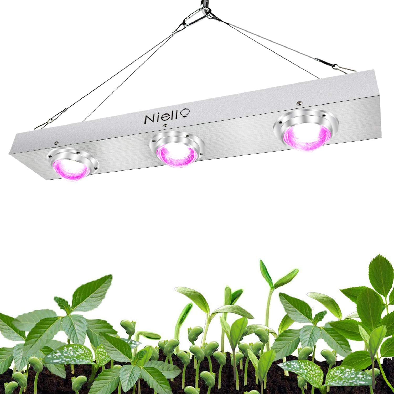 Luz LED Crecimiento Plantas COB Niello 600W