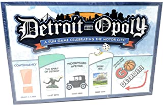 Detroit-Opoly: A Fun Game Celebrating The Motor City! Visit All The Great Attractions of Detroit in This Remix of The Classic Board Game!