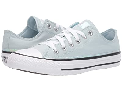 Converse Chuck Taylor All Star Iridescent Stripe Ox (Polar Blue/White/Black) Women