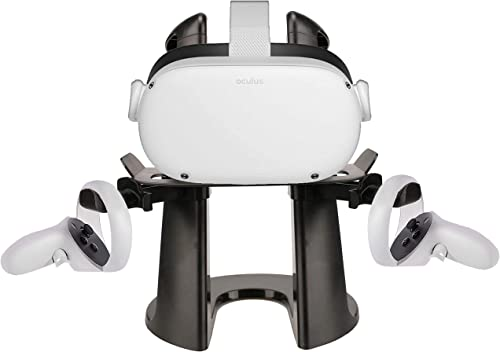 TNE VR Stand Headset and Controller Display Holder Mount Station for Oculus Quest 2/Quest and Rift S Virtual Reality ...