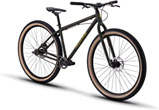 Redline Bikes Monocog 29 Single Speed Mountain Bike, Green