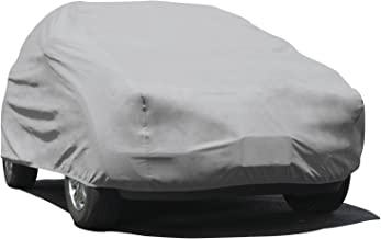 Budge Duro SUV Cover Fits Small SUVs up to 162 inches, UD-0 - (Polypropylene, Gray)
