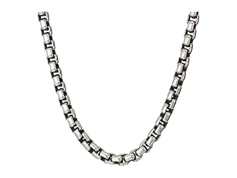John Hardy 3.7mm Box Chain Necklace Size 22