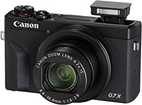 Canon PowerShot Digital Camera [G7 X Mark III] with Wi-Fi & NFC, LCD Screen and 4K Video - Black