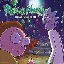 Rick & Morty 2020 Calendar - Official Square Wall Format Calendar