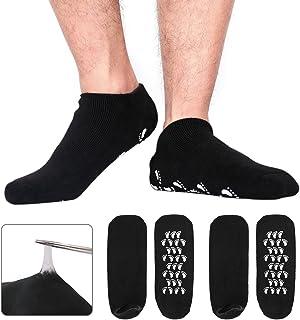 Codream Large Men's Moisturizing Gel Socks Men's Feet Care Ultimate Treatment for Dry Cracked Rough Skin on Feet Pack of 2...