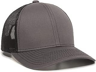 Structured mesh Back Trucker Cap