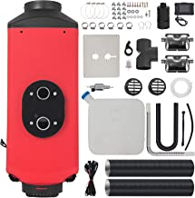Happybuy 3KW Diesel Parking Heater 12V Diesel Air Heater 3000W Diesel Heater Double Silencers with LCD Thermostat for RV Boats Car Bus Caravan Motorhome