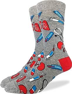 Men's Medical Socks - Grey, Adult Shoe Size 7-12