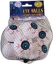 Forum Novelties 75113 Lightweight Ping Pong Ball Type Fake Eye Ball Set (7) Individual Pieces in a Bag, 6 x 3 x 3