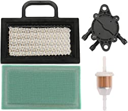 Harbot MIU11286 Air Filter with Fuel Pump Filter for John Deere LA120 LA130 LA140 LA150 L120 L118 Z425 X140 LA135 LA145 X130R D130 D140 X165 X155R 107H Lawn Tractor GY21056 GY20575
