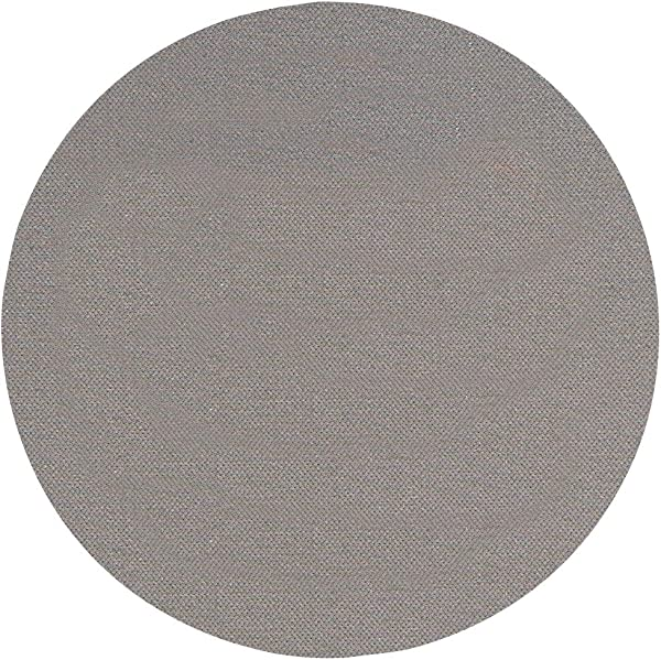 Thirsty Rhino Jeli Soft Rubber Jersey Neoprene Coaster Gray Set Of 12 Round