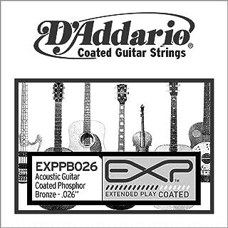 D'Addario EXPPB026 EXP Coated Phosphor Bronze Single String.026
