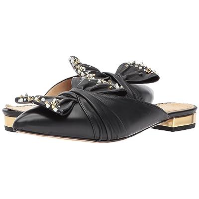 Charlotte Olympia Alexandra (Black/Gold Nappa/Metallic Calf) Women