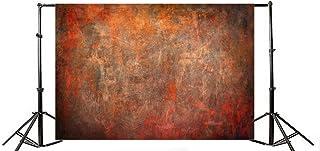 Yeele 5x3フィート ヴィンテージ グランジ写真撮影用背景幕 ビニール レトロ 抽象的 汚れた粗いデザイン 単色 ぼやけた写真 背景 写真ブース アダルト ベビー パーティー パーソナル ポートレート スタジオ 小道具