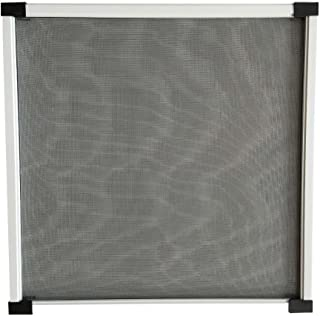 Flyzzz Expandable Sliding Window Screen, Aluminum Frame Anti Mosquito Window Screen for Rolling Doors and Windows (9.84 Inches High By 10-16 Inches Wide, A)