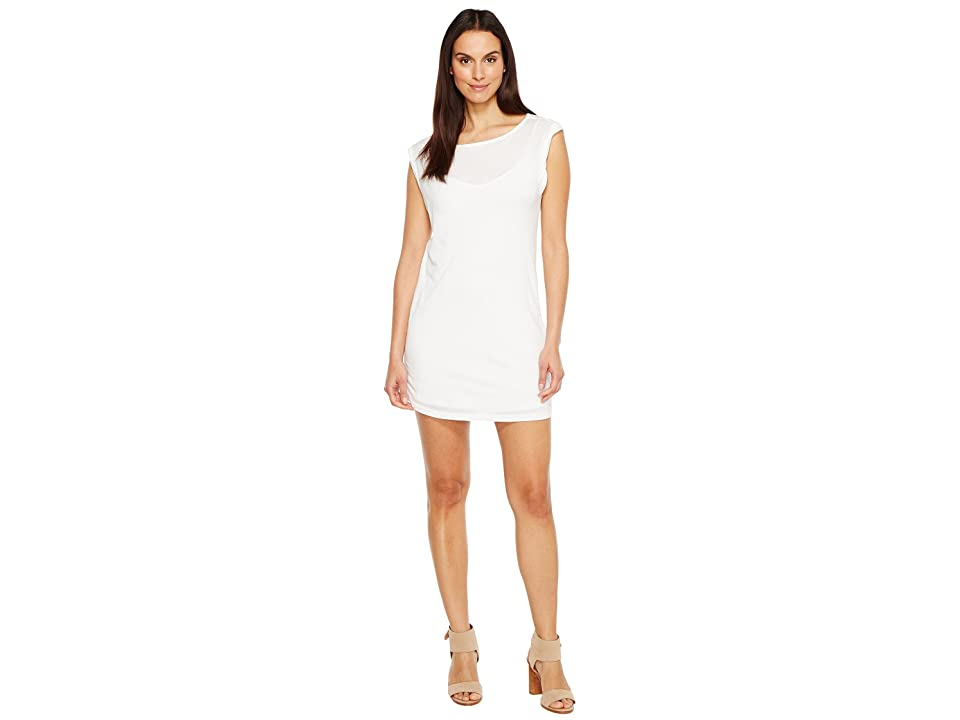 Splendid Rolled Sleeveless Dress (Paper) Women