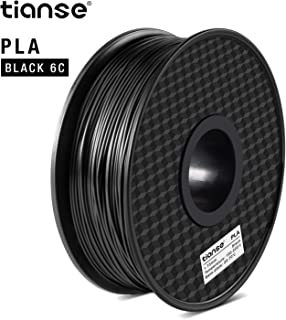 Schwarz//Wei/ß//Silber//Blau//Rot//Gr/ün MEHRWEG Filament PLA 1.75mm 3D Drucker PLA Filament 1.8kg 300g//Spool TIANSE 6 Farben PLA 3D Printer Filament PLA