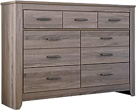 Ashley Furniture Signature Design - Zelen Dresser - 7 Drawer - Warm Gray