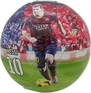 iSport Gifts #7 Ronaldo # 10 Messi Kids Soccer Ball ✓ Size 5 for Kids & Adult ✓ Premium Gift Youth Soccer Ball ✓ Unique Design ✓ Durable Soft Construction