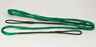 Green B50 Dacron Replacement Recurve Bowstring - Actual String Length - 16 Strand Bow String