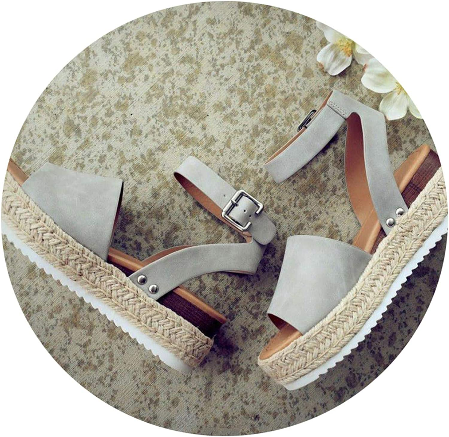 Wedges shoes High Heels Sandals Summer shoes Flip Flop shoes Femme Platform Sandals