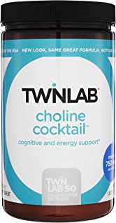 Twinlab Choline Cocktail Energy Drink Mix 13.33oz