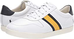 White/Newport Navy/Gold Bugle Leather