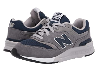 New Balance Kids 997H Essentials (Little Kid) (Castlerock/Natural Indigo) Boys Shoes