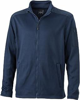 James & Nicholson JN591 Mens Knitted Fleece Jacket