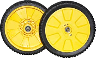 Outdoors & Spares 2 Packs Replaces Oregon 72-115 Mower Wheel for AM115138 GY20630 John Deere JX25 14SB JX75,8 x 200