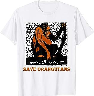 Save Orangutans T-shirt: Animal activist gift Tee