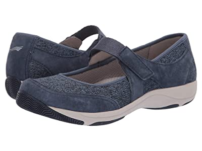 Dansko Hennie (Blue Suede) Women