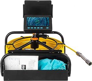 HBHYQ Endoscopio de la tubería de 4.3 Pulgadas, cámara de tubería, Detector de inspección Interna de tubería, inspección d...