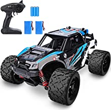 YEZI 1:18 Scale Large RC Cars 46km/h+ Speed, 2.4Ghz All Terrain Waterproof Remote Control Truck,4x4 Electric Rapidly Off R...