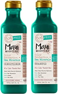 Maui Moisture Color Protection & Sea Mineral Oil Shampoo & Conditioner Set 19.5 Ounce