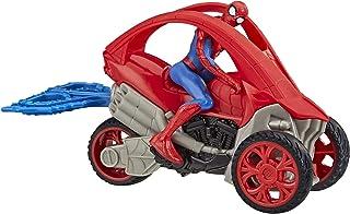 Marvel Spider-Man – Figurine Spider-Man 15 cm et moto - Jouet Spider-Man