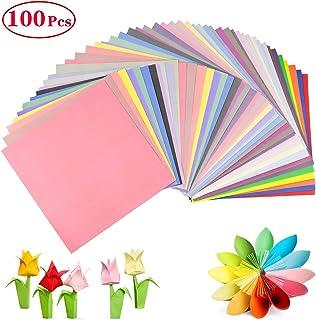 carta pastello assortita per origami fatti a mano 100 fogli di carta per origami formato A4 carta colorata 70 g//mq 297 mm x 210 mm