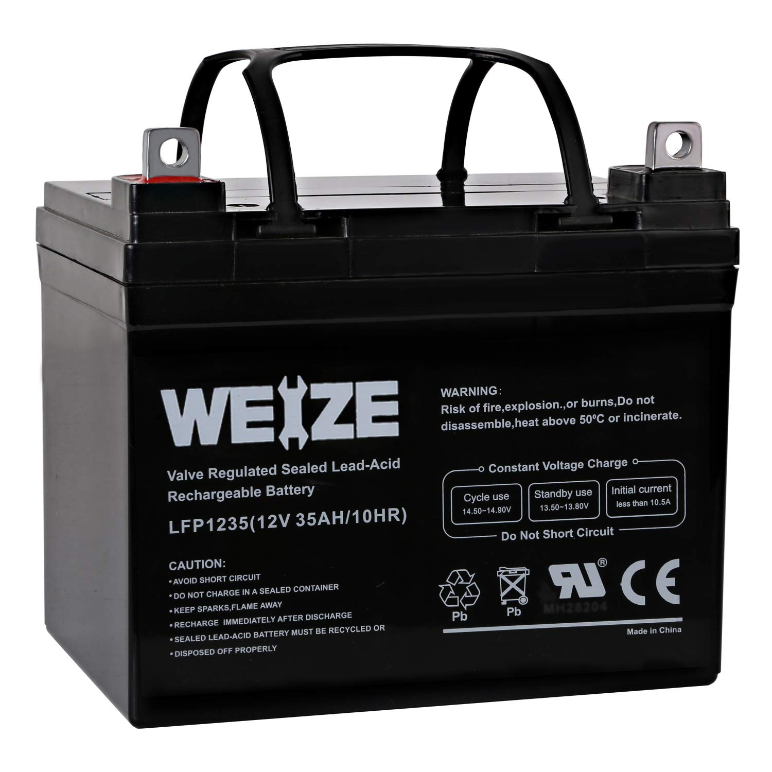 Weize Rechargeable Cycle Battery Replaces